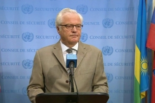 Comments to the media by H.E. Mr. Vitaly I. Churkin, Permanent Representative of the Russian Federation to the United Nations on Ukraine and other issues
