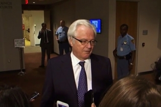 Remarks to the press by Ambassador V.Churkin after the Security Council meeting on establishing of the Joint Investigative Mechanism OPSW-UN